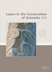 Cover of: Lasers in the Conservation of Artworks Viii | Roxana Radvan