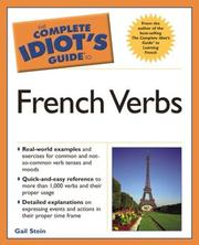Cover of: Complete Idiot's Guide to French Verbs