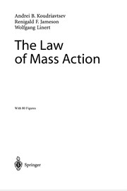 Cover of: The Law of Mass Action | Andrei Koudriavtsev