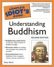 Cover of: Complete Idiot's Guide to Understanding Buddhism