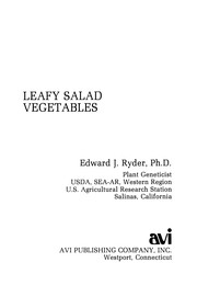 Cover of: Leafy salad vegetables
