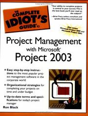 Cover of: The Complete Idiot's Guide to Project Management with Microsoft Project 2003