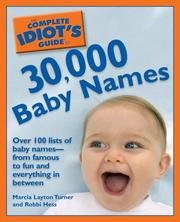 The Complete Idiots Guide to 30,000 Baby Names