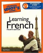 Cover of: The Complete Idiot's Guide to Learning French