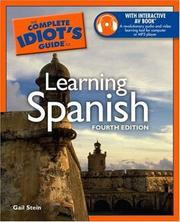 Cover of: The Complete Idiot's Guide to Learning Spanish