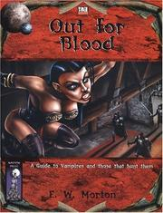 Cover of: Out for Blood | E.W. Morton