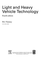 Cover of: Light and heavy vehicle technology | M. J. Nunney