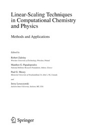 Cover of: Linear-Scaling Techniques in Computational Chemistry and Physics | Robert ZaleЕ›ny
