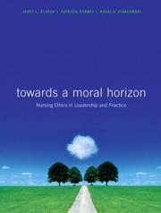 Cover of: Toward a Moral Horizon Available | Janet Storch
