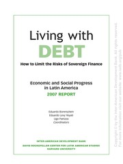 Cover of: Living with debt |