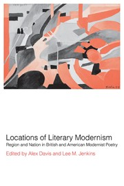 Cover of: Locations of literary modernism