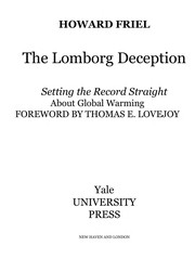 Cover of: The Lomborg deception | Howard Friel