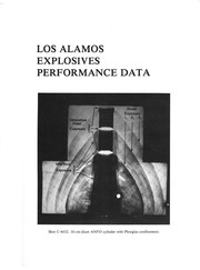Cover of: Los Alamos explosives performance data