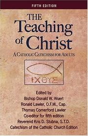 Cover of: Teaching of Christ |