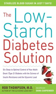 Cover of: The low-starch diabetes solution
