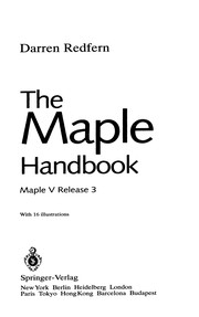 Cover of: The Maple Handbook
