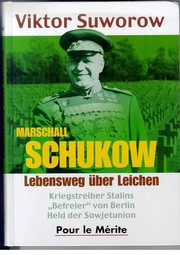 Cover of: Marschall Schukow