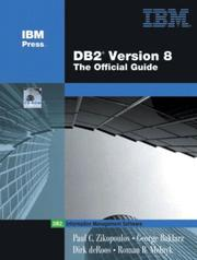 Cover of: DB2 Version 8 | Paul C. Zikopoulos