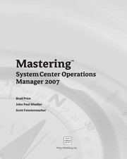 Cover of: Mastering System center operations manager 2007 | Brad Price