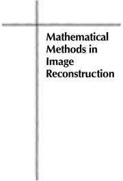 Cover of: Mathematical methods in image reconstruction |