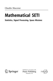 Cover of: Mathematical SETI | Claudio Maccone