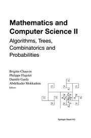 Cover of: Mathematics and Computer Science II | Brigitte Chauvin