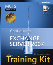 Cover of: MCTS self -paced training kit (Exam 70-236) | McLean, Ian