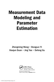Cover of: Measurement data modeling and parameter estimation | Zhengming Wang