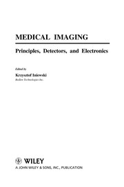 Cover of: Medical imaging electronics | Krzysztof Iniewski