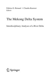 Cover of: The Mekong Delta System | Fabrice G. Renaud