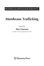 Cover of: Membrane trafficking |