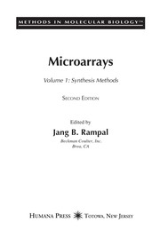 Cover of: Microarrays |