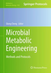 Cover of: Microbial metabolic engineering