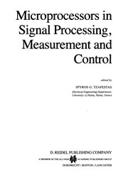 Cover of: Microprocessors in Signal Processing, Measurement and Control | Spyros G. Tzafestas