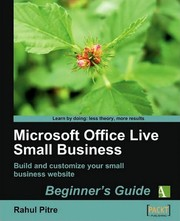 Cover of: Microsoft Office Live Small Business | Rahul Pitre