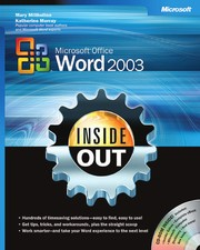 Cover of: Microsoft Office Word 2003 inside out