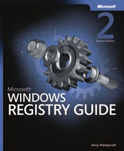 Cover of: Microsoft Windows XP registry guide | Jerry Honeycutt