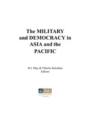 Cover of: The military and democracy in Asia and the Pacific