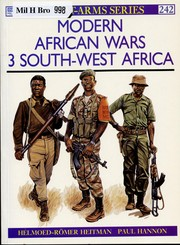 Cover of: Modern African wars. | Helmoed-RoМ€mer Heitman
