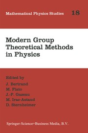 Cover of: Modern group theoretical methods in physics |