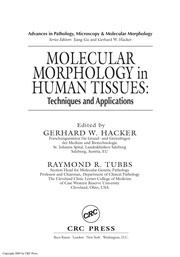 Cover of: Molecular morphology in human tissues |