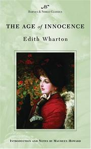 Cover of: The Age of Innocence (Barnes & Noble Classics) | Edith Wharton