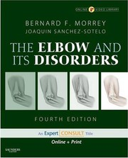 Cover of: The elbow and its disorders |
