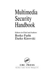 Cover of: Multimedia security handbook |