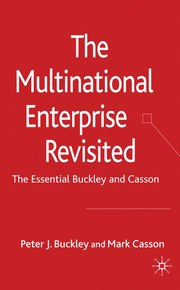 Cover of: The multinational enterprise revisited | Peter J. Buckley