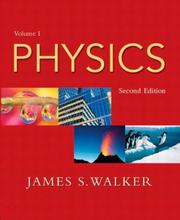Cover of: Physics, Vol. 1, Second Edition | James S. Walker