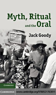 Cover of: Myth, ritual and the oral | Jack Goody