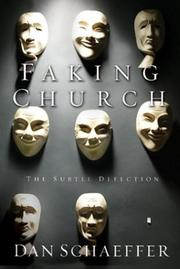 Cover of: Faking church