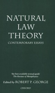 Cover of: Natural law theory |
