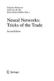 Cover of: Neural Networks: Tricks of the Trade | GrГ©goire Montavon